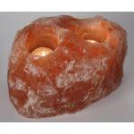 Himalayan Ionic Crystal Salt Candleholder