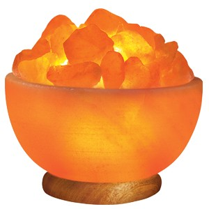 Himalayan Ionic Salt Crystal Bowl Lamp